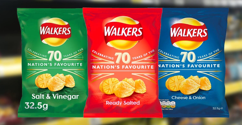 Chiến dịch quảng cáo màn hình sáng tạo của Walkers